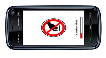 دانلود دزدگیر موبایل nAlert Me Beta4 برای نوکیا سری ۶۰ ورژن ۳-۵